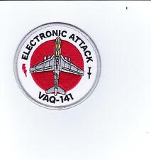 USN PATCH - VAQ-141 SQUADRON ELECTRONIC ATTACK FULL COLOR:GA15-2