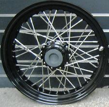 """2000-2007 16"""" x 3"""" REAR 40 SPOKE BLACK RIM HUB WHEEL HARLEY HD XL DYNA SOFTAIL"""