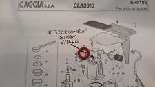 Gaggia Classic - Steam Valve  Gasket , Seal / O Ring, Silicone , DM0041/081