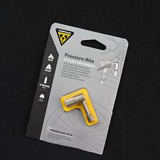 Topeak TSV-01 Pressure-Rite Schrader Valve Adapter / Bike Check Valve Shock Pump