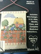 FRENCH COUNTRY  COTTAGE cross stitch kit Great For Summer Vacation !!