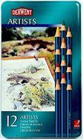 Derwent 12 Artists Colour Pencil Tin Set
