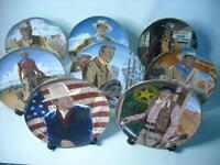 Choose ONE OR MORE Plates JOHN WAYNE Franklin Mint - Robert Tanenbaum Plate