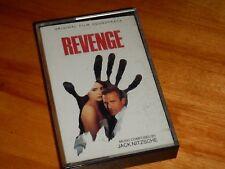 Revenge Soundtrack - 1990 Cassette Tape Jack Nitzsche
