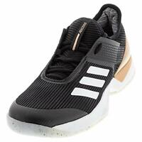 Adidas Mens Ubersonic Fabric Low Top Lace Up, Black/White/Copper, Size 7.0 ldIp