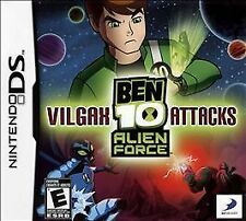 Ben 10: Alien Force - Vilgax Attacks (Nintendo DS, 2009) **GAME ONLY, NO CASE**