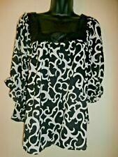 Violet & Claire Women polyester blouse size L