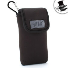 USA Gear Portable Pocket Wi-Fi Hotspot Carrying Case with Carabineer for MIFI