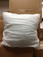 """Frontgate Sofa Chair Indoor Outdoor Patio Throw Pillow INSERT 18"""" Square White"""