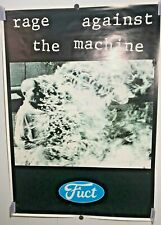 EXTRMELY RARE - RAGE AGAINST THE MACHINE fuct POSTER BUDDHIST MONK 1992 Morello