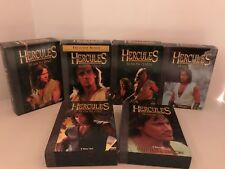HERCULES THE LEGENDARY JOURNEYS COMPLETE SERIES DVDS