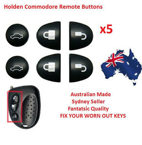 5X Sets Key Remote Buttons Holden Commodore Key Buttons VS VT VX VY VZ WH WK WL