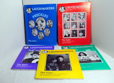 Laugh Makers Magazine '87 Vol 6 #1 - 4 & 6 Clowning Puppets Magic Balloon Circus