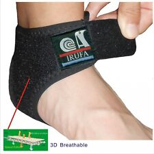 IRUFA 3D Breathable Elastic Ankle Wrap Brace Support Athletics Achillies Tendon