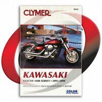 2006 Kawasaki Vulcan Nomad D6F Repair Manual Clymer M245 Service Shop Garage
