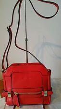 Vershe* lovely little Milleni handbag, shoulder, Cross body, Red, stylish, NWT