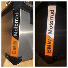RIFRANGENTI REFLECTIVE BMW MOTORRAD ARANCIO/NERO ORANGE/BLACK -The1200stickerS