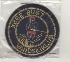 Patches Patches Waterski Denmark Køge Bugt Vandskiklub Bouillon Embroidery