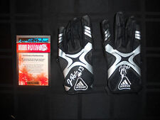 JOSH ROBINSON SIGNED GAME USED MISSISSIPPI STATE BULLDOGS ADIDAS GLOVES W/COA
