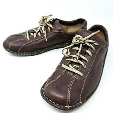 BOC Born Women's Casual Lace Up Oxfords Brown Stitched Leather 8.5 M/W 40
