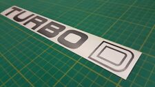 Range Rover Vogue Turbo D Classic tailgate restoration decal sticker SE LSE mk 1