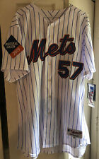 NEW YORK METS JOHAN SANTANA #57 MENS STITCHED MAJESTIC JERSEY SIZE 48