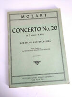 Mozart: Concerto No. 20 in D minor - K. 466 for Piano and Orchestra Ruthardt