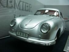 WOW EXTREMELY RARE Porsche 356 Coupe1950 Silver 1:18 Signature-Auto Art