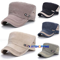 Military Hat Army Cadet Patrol Agent Cap Mens Womens Golf Driving Summer Castro