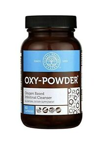Oxy-Powder Oxygen Based Intestinal Cleanser 60 caps Count