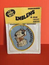 Vintage The Show Offs Emblem �Pekingese� Dog Pet Embroidered Emblem Patch - Nos