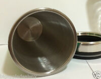 Stainless Steel Insulated  Travel Coffee Mug CUP 16 OZ NEW! PURPLE color