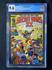Secret Wars II #9 CGC 9.6 (1986)