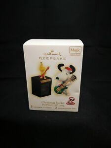 Hallmark Keepsake Peanuts Christmas Rocks! Ornament 2009 NIB MIB