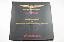 Factory Service Manuals for GL1800 2012-2016 (61MCA65) By Honda