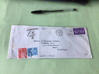 Wakefield Yorkshire 1967 to Basel Switzerland To Pay   Stamps Cover Ref 52303