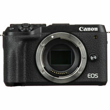 Canon EOS M6 Mark II Mirrorless Digital Camera (Black, Body) 3611C001