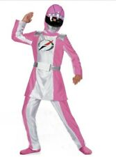 Power Rangers Operation Overdrive DELUXE Pink Ranger Costume Girl's 7-8 NeW