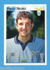 PANINI CALCIO COPPE 1996/97-Figurina n.86- NEGRO - LAZIO - NEW