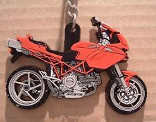 DUCATI CORSE MULTISTRADA RUBBER KEYRING 1000DS VERY RARE, DON'T SEE THESE OFTEN!