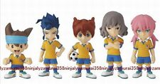 Inazuma Eleven GO mini figure set of 5 official anime Collection DX Authentic