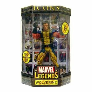MARVEL LEGENDS ICONS_WOLVERINE 12 inch action figure_Unmasked_Variant_MIB_TOYBIZ