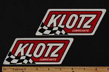 KLOTZ OIL Vintage Motocross STICKER Decal Suzuki Honda Yamaha Maico Motorcycle