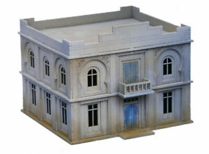 North African/Colonial Administration Building/Hotel Building 20mm MDF Sariss...