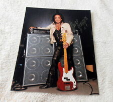 Marco Mendoza Thin Lizzy Original Signed Photo in 20x25 cm ( 8x10