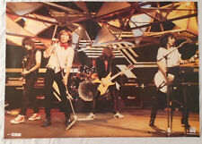 UFO 1981 Poster Rock On Holland With Error Scorpions New Condition