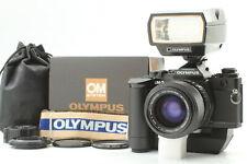 Rare!【MINT&UNUSED Set】Olympus OM-3 ZUIKO S 35-70mm F4 Unused Winder 2 From JAPAN