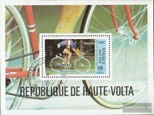 Alto Volta Bloque 55 usado 1980 olímpicos juegos de verano ´80