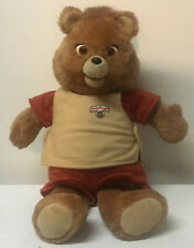 Vtg 1985 ORIGINAL Teddy Ruxpin Doll Bear Fully Dressed VINTAGE RARE ~ AS IS