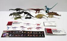 Kaiyodo Chocolasaurs Greatest Dinosaur Expo 2002 Limited Figure 7pcs Set Japan